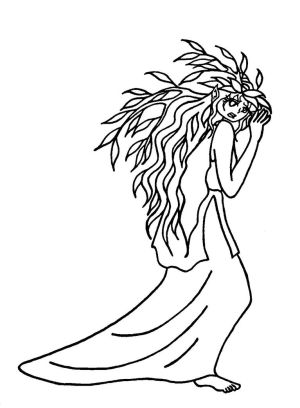 Stone Dryad (colorless)