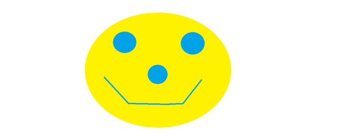 Smiley Face by Donnasand