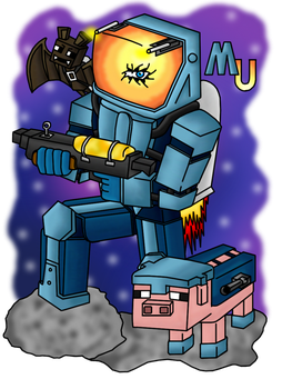 MinecraftUniverse: Commado Elite by Lord-Varian