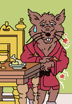 Splinter's Stomach Trouble by CCB-18