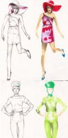 fashion figures_3 by Zvalosch