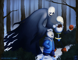 Undertale: I Watched the World Through Broken Eyes by Shrineheart