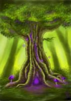 The Enchanted Gnarl by Elrohr