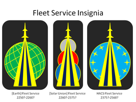 Fleet Service Insignia by TheCentipede