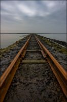 railtrack to nothingness by RaumKraehe