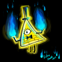 Bill Cipher by Ronaka-san