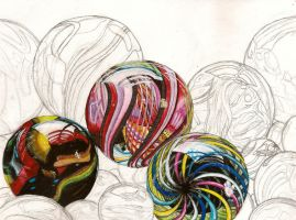 Three Marbles by sitres