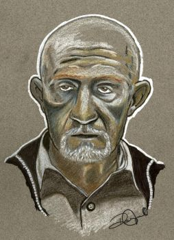 Mike Ehrmantraut Breaking Bad by coldgopher