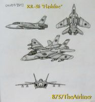 KR-36 Multirole Fighter by B737TheAirliner