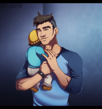 Dream Daddy - Baby Girl by WyldeElyn