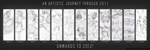 Hnilmik's Artistic Journey Through 2011 by Hnilmik
