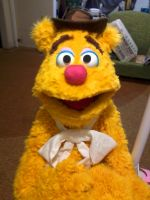 My custom made Fozzie Bear by DaveAlvarez