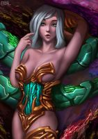 Through the Caverns of Color (NSFW optional) by Eriyal