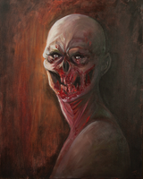 Zombie Painting by tree27