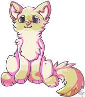 Peach Persian by AnamayCat