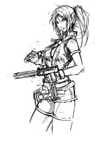 Claire Redfield by Agacross