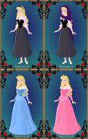 Princess Aurora's Wardrobe by LadyAquanine73551