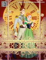 Hans y Anna Frozen Disney by Richmen