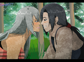 ItaNayu love in the forest by Sarah927