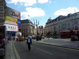 Summer Days on Piccadilly Circus 2014 by ChristianPrime1-Bot