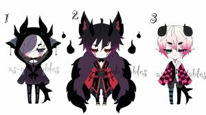 kemonomimi adoptables CLOSED by AS-Adoptables