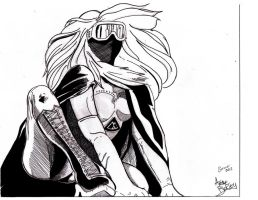 Crimson Catalyst trading card inks by UltimateInker
