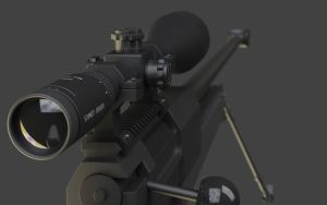 PGM .238 Mini Hecate Scope by LSR33