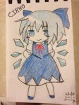 Cirno reproduction by RadonTheWolf