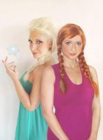 Elsa and Anna - for contest by FrancescaMisa