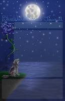 .:COM: BlueWaterRose Journal Skin:. by Am3h
