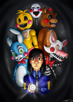 Don't look behind you- Five Nights at Freddy's 2 by MESS-Anime-Artist