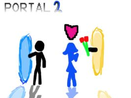 Portal Love by AtomicWarpin