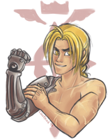 Edward Elric by rauthaz