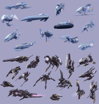 Ship Thumbnail Designs by Sycra