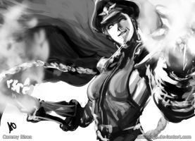Cammy Bison 2 by borjen-art