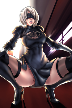 YoRHa No.2 Type B - Nier Automata by Lord-Dominik