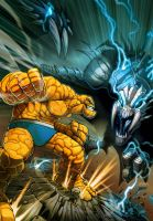 THING vs mitos XD by el-grimlock