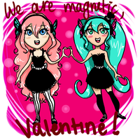 Magnetic Valentine by Chloe-The-Great