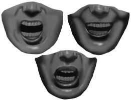 A25 - Open Mouth Expressions by Rhyrs