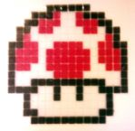 Mario Power Up Mosaic by JG-Portfolio