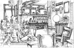 Coffee House Sketch by ponch414