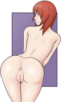 Red Head's Rear by MrGrimShadow