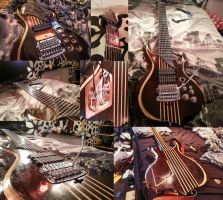 Tomas Mascinskas Signature 8 String Guitar by TMProjection