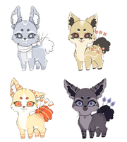 (CLOSED) Lovely Adoptables : Contest Entry by NeoAbyss-Adopts