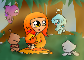 SSP Round 5: Chao Garden: Flame by vocaloidCyborg