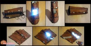 Bracer of Light - Deluxe Archer Edition by RawringCrafts