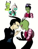 Anime-fied Invader Zim by ChibiBee