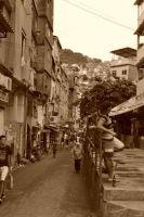 Ordinary favela day by Swadharma