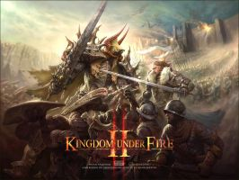 Promotion Art for Kingdom Under Fire 2 by Gpzang