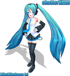 MikuMikudance Miku by chatterHEAD